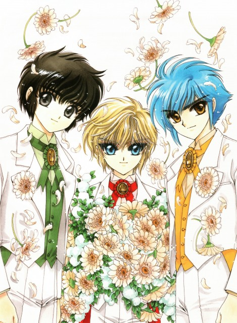 CLAMP, CLAMP School Detectives, CLAMP no Kiseki, CLAMP South Side, Akira Ijyuin