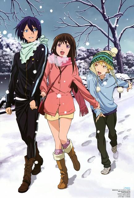 Komori Hideto, BONES, Noragami, Hiyori Iki, Yukine (Noragami)