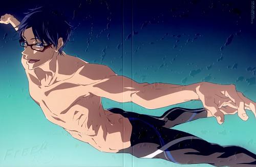 Futoshi Nishiya, Kyoto Animation, Free!, Rei Ryuugazaki, DVD Cover