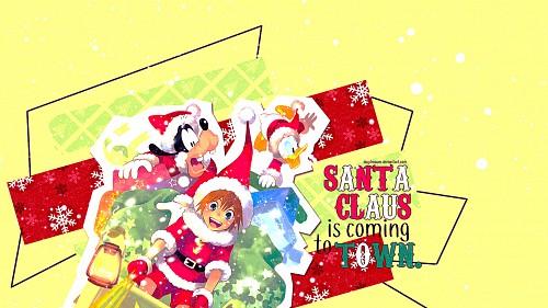 Square Enix, Kingdom Hearts, Goofy, Donald Duck, Sora Wallpaper