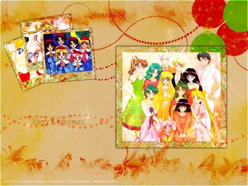 Bishoujo Senshi Sailor Moon, Michiru Kaioh, Minako Aino, Haruka Tenoh, Ami Mizuno Wallpaper