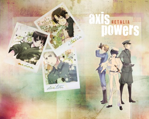 Hidekaz Himaruya, Studio DEEN, Hetalia: Axis Powers, Germany, Italy Wallpaper