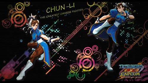 Capcom, Tatsunoko Production, Street Fighter, Chun-Li Wallpaper