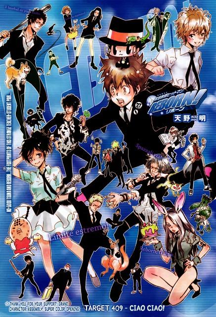 Akira Amano, Artland, Katekyo Hitman Reborn!, Uri, Asari Ugetsu
