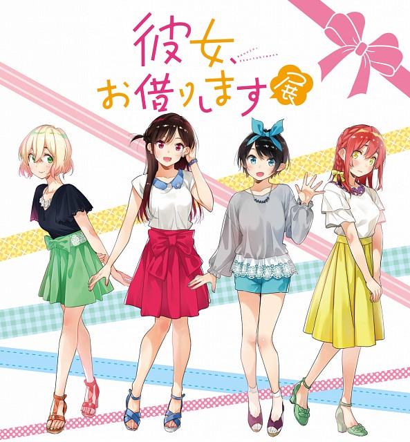 Reiji Miyajima, Kanojo Okarishimasu, Mami Nanami, Sumi Sakurasawa, Ruka Sarashina