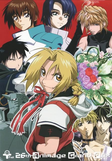 Rando Ayamine, Studio Pierrot, Studio Deen, Mobile Suit Gundam SEED, Get Backers