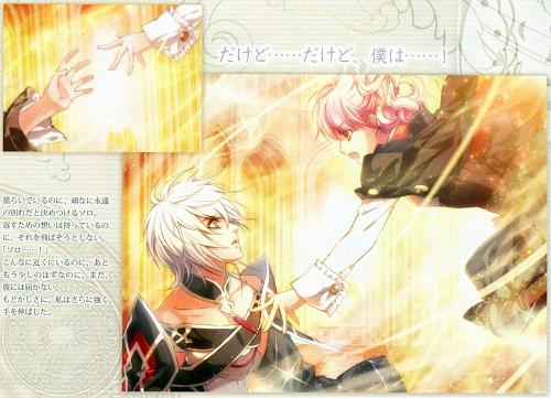 Kagerou Usuba, Idea Factory, Wand of Fortune II Official Visual Fan Book