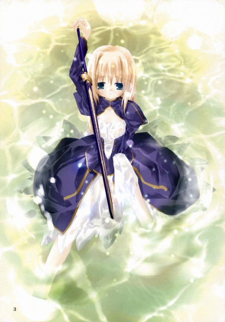 Fate/stay night, Saber, Doujinshi