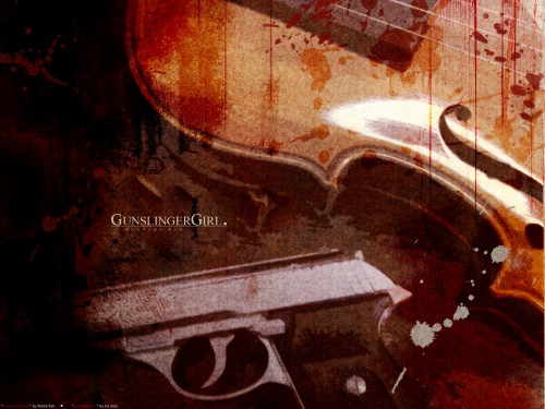 Madhouse, Gunslinger Girl Wallpaper