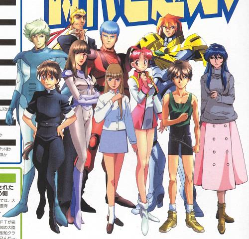 Takahiro Kimura, Sunrise (Studio), Brave King GaoGaiGar, Mobile Suit Gundam Wing, Armored Trooper Votoms