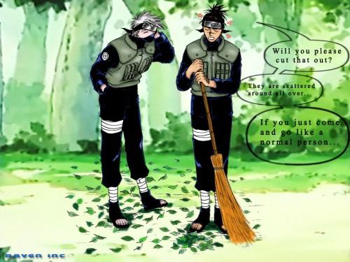 Masashi Kishimoto, Studio Pierrot, Naruto, Iruka Umino, Kakashi Hatake Wallpaper