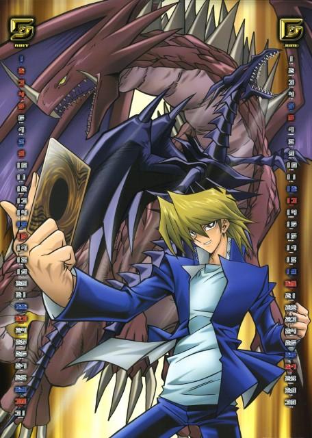 Kazuki Takahashi, Studio Gallop, Yu-Gi-Oh Duel Monsters, Yu-Gi-Oh 2004 Calendar, Katsuya Jounouichi