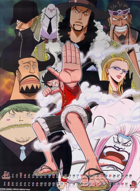Eiichiro Oda, One Piece, Kumadori, Kaku, Fukurou