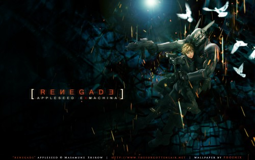 Masamune Shirow, Appleseed, Deunan Knute, Briareos Hecatonchires Wallpaper
