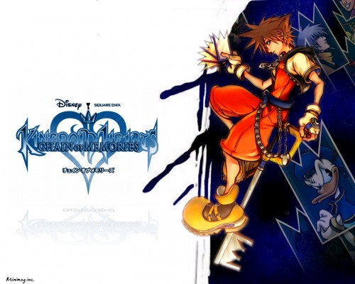 Square Enix, Kingdom Hearts, Sora, Riku, Donald Duck Wallpaper