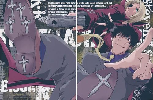 Yasuhiro Nightow, BONES, Kekkai Sensen, Steven A. Starphase, K.K.
