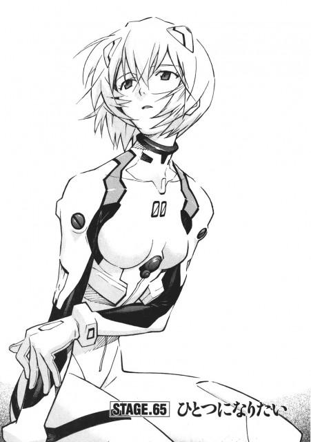 Yoshiyuki Sadamoto, Neon Genesis Evangelion, Rei Ayanami, Chapter Cover