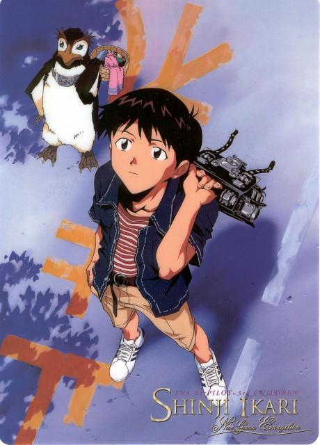 Yoshiyuki Sadamoto, Gainax, Neon Genesis Evangelion, Shinji Ikari, Pen Pen