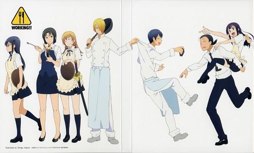 Karino Takatsu, A-1 Pictures, Working!!, Kyoko Shirafuji, Aoi Yamada