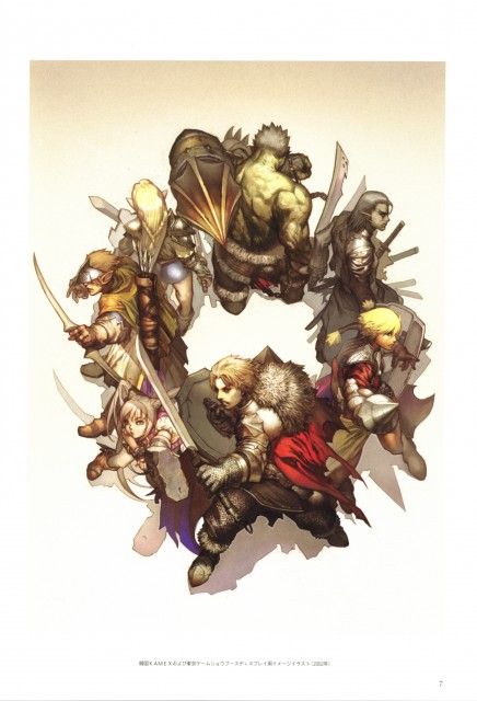 Juno Jeong, Lineage II - The Chaotic Chronicle Visual Fan Book, Lineage, Occupations