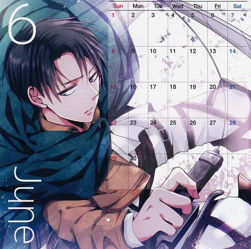 Maine, Shingeki no Kyojin, Shingeki no Kyojin 2014-2015 Calendar, Levi Ackerman, Calendar
