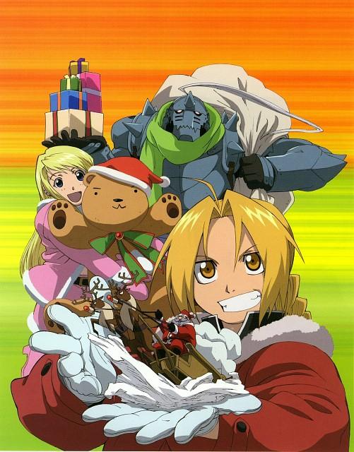 BONES, Fullmetal Alchemist, Winry Rockbell, Edward Elric, Alphonse Elric