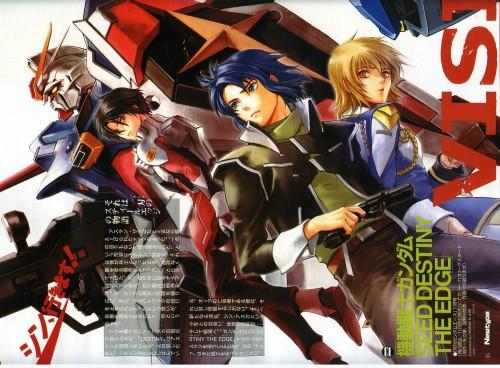 Chimaki Kuori, Sunrise (Studio), Mobile Suit Gundam SEED Destiny, Shinn Asuka, Cagalli Yula Athha