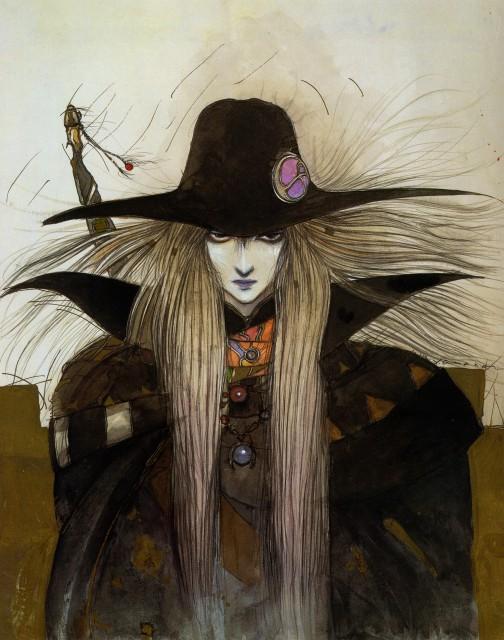 Yoshitaka Amano, Vampire Hunter D, Coffin: The Art of Vampire Hunter D, D (Vampire Hunter D)