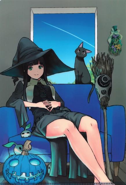 Tomoe Rokuwata, J.C. Staff, Flying Witch, Makoto Kowata, Chito