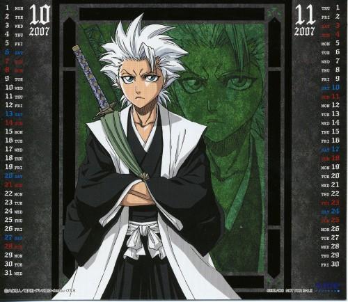 Studio Pierrot, Bleach, Bleach 2007-2008 Calendar, Toshiro Hitsugaya, Calendar