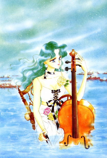 Naoko Takeuchi, Bishoujo Senshi Sailor Moon, BSSM Original Picture Collection Vol. III, Michiru Kaioh