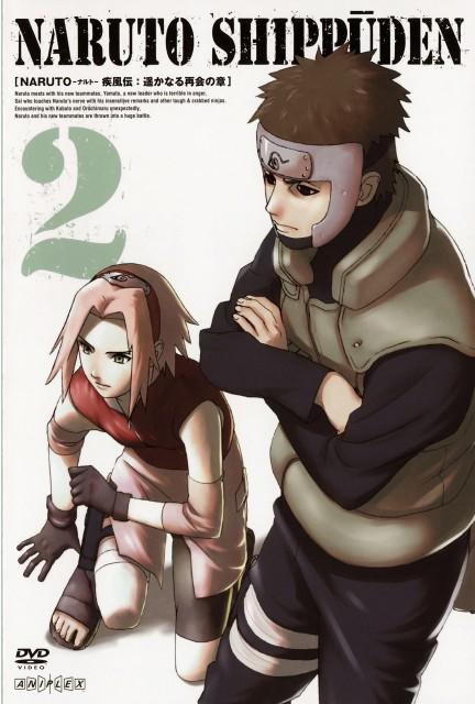 Studio Pierrot, Naruto, Yamato , Sakura Haruno, DVD Cover