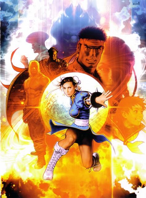Shinkiro, Capcom, Street Fighter 20th Anniversary Artworks, Rival Schools, Street Fighter