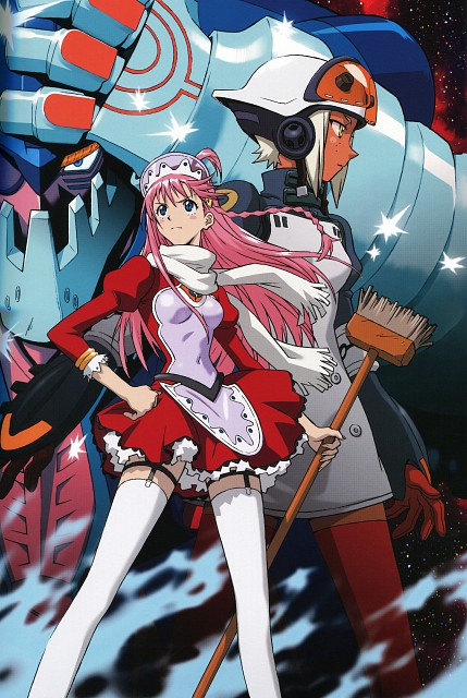 Yoshiyuki Sadamoto, Gainax, Bandai Visual, Top o Nerae 2! Gunbuster, Carmine