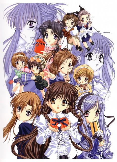 Naoto Tenhiro, Sister Princess, The Art of Sister Princess, Karen (Sister Princess), Rin Rin (Sister Princess)