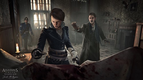 Ubisoft, Assassin's Creed Syndicate, Frederick Abberline, Evie Frye, Game CG