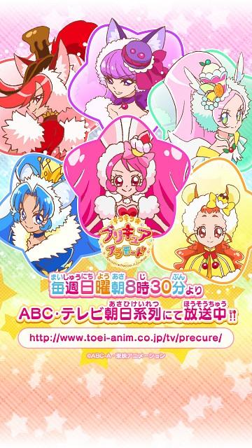 Toei Animation, Kirakira Precure A La Mode, Cure Chocolat, Cure Macaron, Cure Gelato