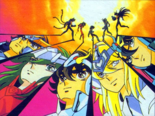 Masami Kurumada, Toei Animation, Saint Seiya, Cygnus Hyoga, Andromeda Shun