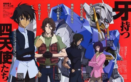 Sunrise (Studio), Mobile Suit Gundam 00, Tieria Erde, Allelujah Haptism, Setsuna F. Seiei
