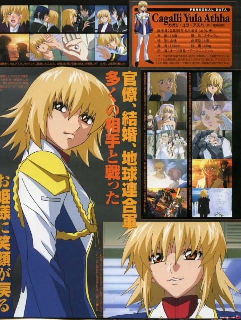 Hisashi Hirai, Sunrise (Studio), Mobile Suit Gundam SEED Destiny, Cagalli Yula Athha, Character Sheet