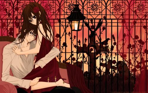 Matsuri Hino, Vampire Knight, Yuuki Cross, Kaname Kuran Wallpaper