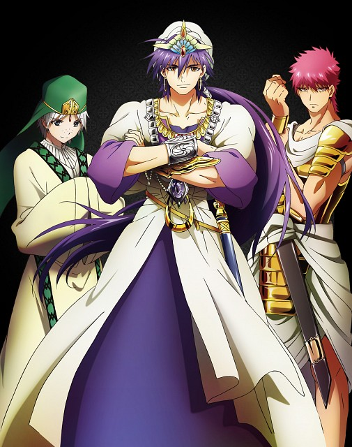 Shinobu Ohtaka, A-1 Pictures, MAGI: The Labyrinth of Magic, Masrur, Jafar (MAGI)
