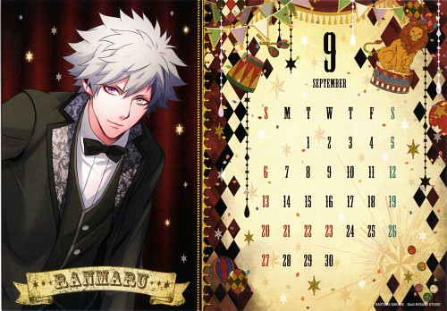 A-1 Pictures, Broccoli, Shining Circus 2015 Calendar, Uta no Prince-sama, Ranmaru Kurosaki