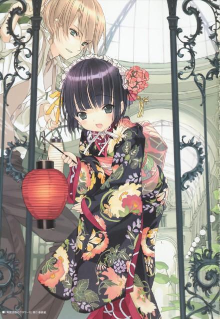 Hinata Takeda, Ikoku Meiro no Croisée, Artworks by Hinata Takeda, Yune, Claude Claudel