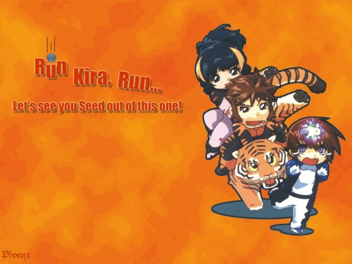 RGB, Mobile Suit Gundam SEED, Andrew Waltfeld, Aisha (Gundam SEED), Kira Yamato Wallpaper