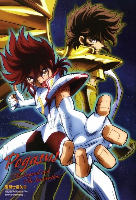 Toei Animation, Saint Seiya Omega, Pegasus Seiya, Pegasus Kouga, Animage