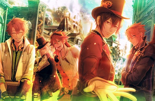 miko (Mangaka), Idea Factory, Code: Realize Official Fan Book, Code: Realize, Arsène Lupin