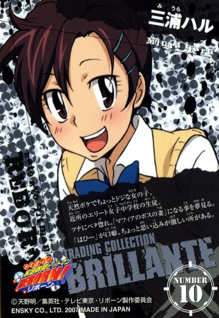 Akira Amano, Artland, Katekyo Hitman Reborn!, Katekyo Hitman Reborn!: Trading Collection, Haru Miura