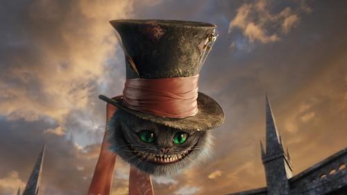 Disney, Alice In Wonderland (2010 Film), Cheshire Cat, Live Action