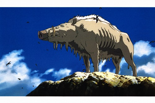 Studio Ghibli, Princess Mononoke, Princess Mononoke Postcard Collection, Okkoto, Postcard